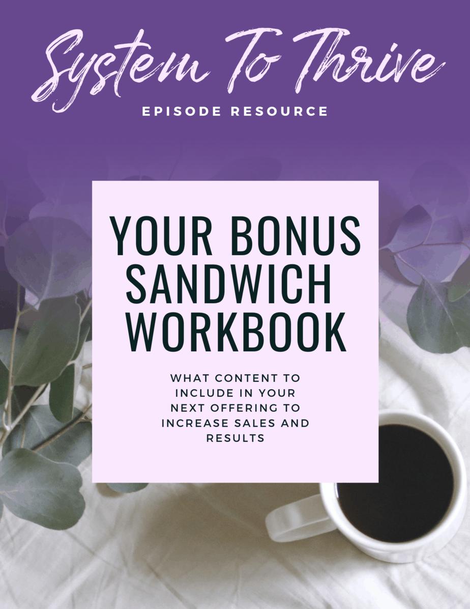 Bonus sandwich download cover image